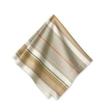 herringbone striped napkin set
