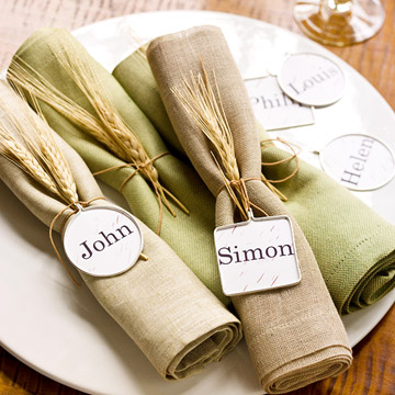 napkin Place Cards