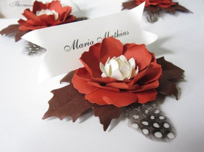 Paper Flower Place Holder