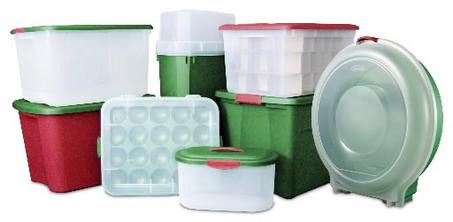 Holiday Storage Containers