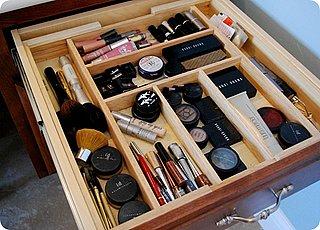 Make-up Drawer Organization