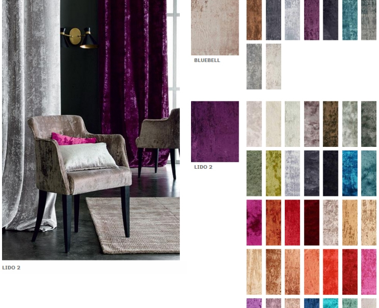 Casamance - Lido 2 is a favorite for its rich velvet look and we love the massive array of colors it comes in!