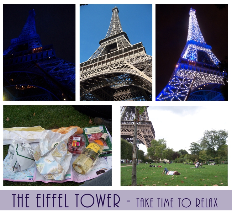 Time to Get Away - The Eiffel Tower