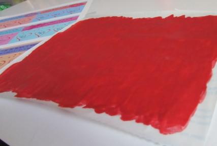 Valentine Scratchers  - Step 3