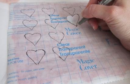 Valentine Scratchers  - Step 6