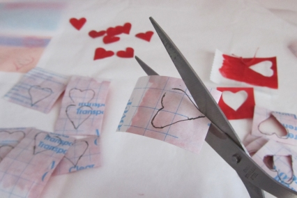 Valentine Scratchers  - Step 7