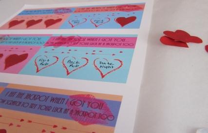 Valentine Scratchers  - Step 8