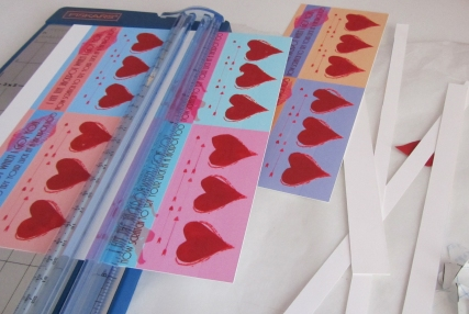 Valentine Scratchers  - Step 9