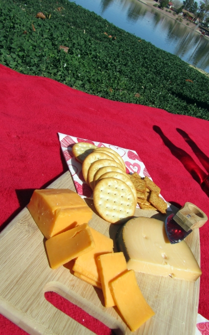 Valentines Picnic Date - Cheese Plate
