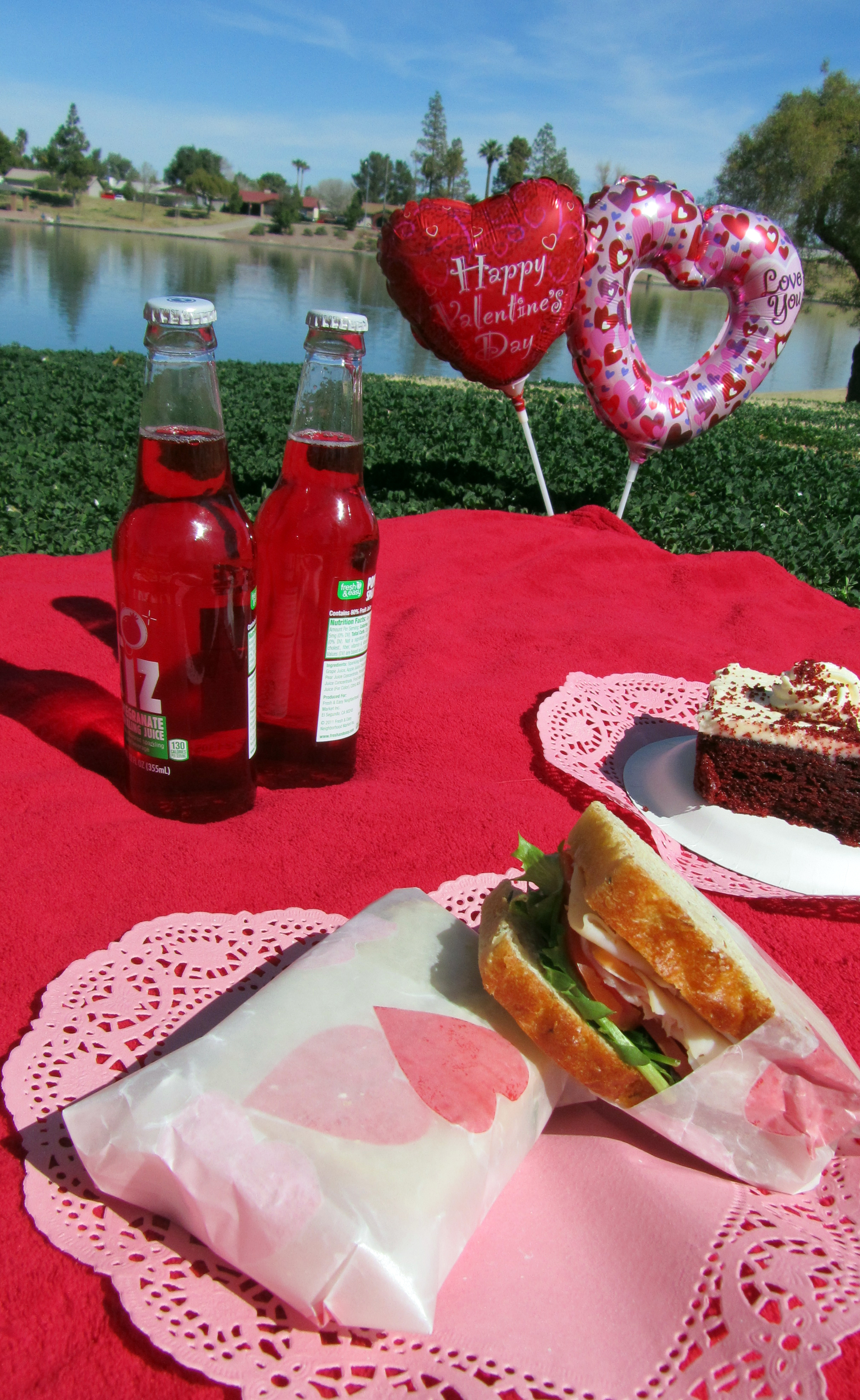 Valentines day picnic ideas