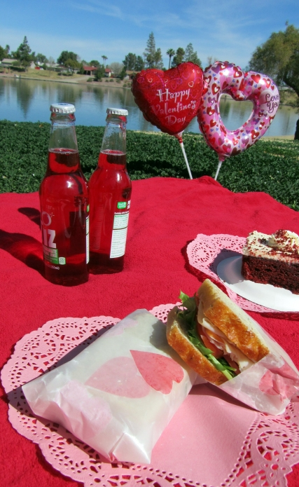 Valentines Picnic Date - Lets Eat