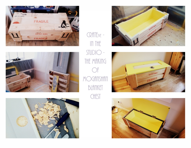 CRATEive - In the studio - The making of Moganshan Blanket Chest