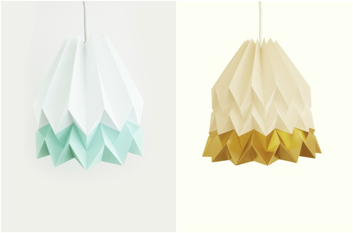 Orikomi Paper Lamp