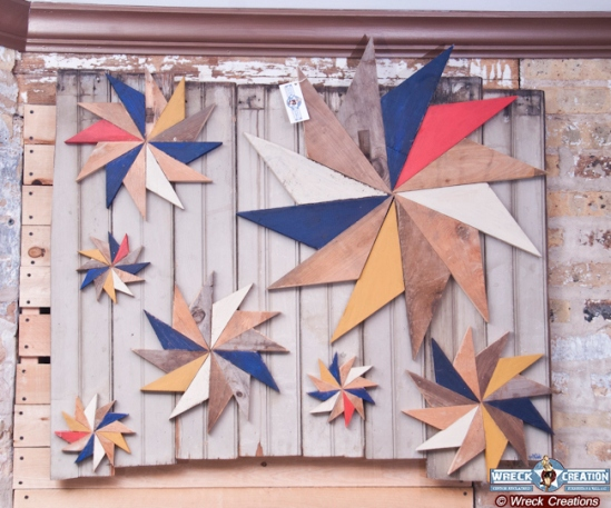 Pinwheel Wall Art (Image via Wreck Creation)