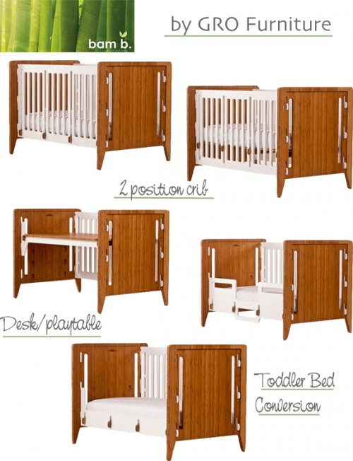 Gro Furniture convertible Crib
