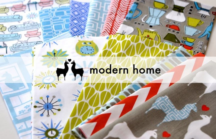 Textile Tuesday - FINDS Blog - Monaluna Fabrics - Modern Home Collection