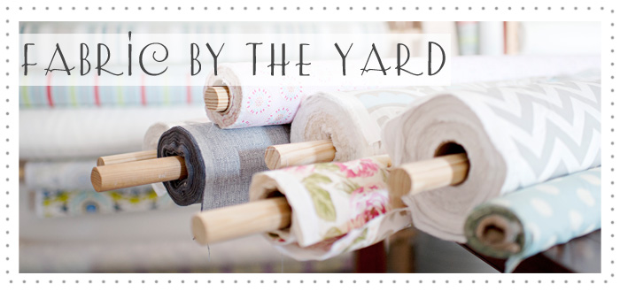 Textile Tuesday - FINDS Blog - New Arrivals Inc - Fabric by the Yard