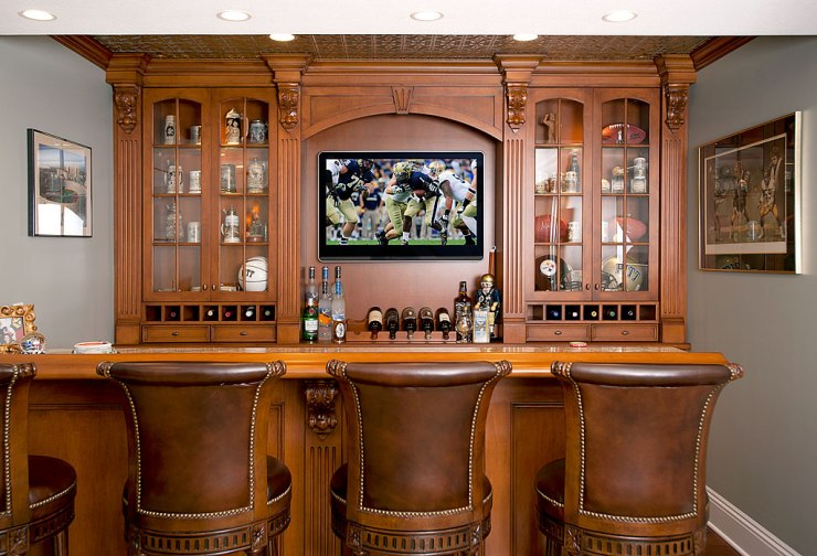 5 Tips to Designt he Perfect Home Bar - More Elaborate Bar