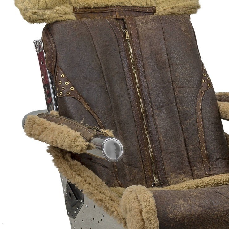 FINDS - Chair of the Month - Ejector Seat Chair Detail