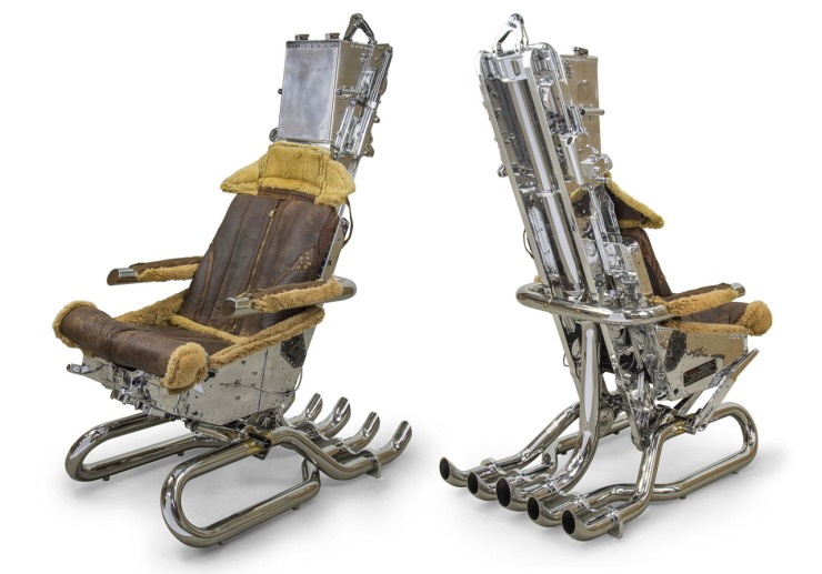 FINDS - Chair of the Month - Ejector Seat Chair from Hangar-54