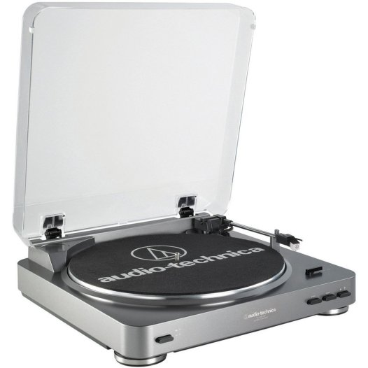 FINDS - Fathers Day Gift Guide - Audio Technica AT-LP60USB Fully Automatic Belt Driven Turntable with USB Port