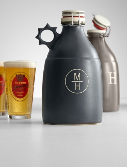 FINDS - Fathers Day Gift Guide - Personalized Portland Growler