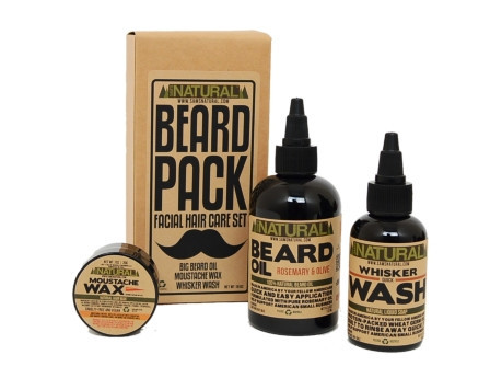 FINDS - Fathers Day Gift Guide - The Beard Pack from Sams Natural