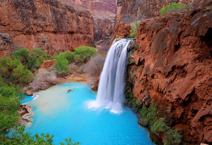 Havasupai Falls - The Grand Canyon - Time to Get Away - Guys Camping Trip