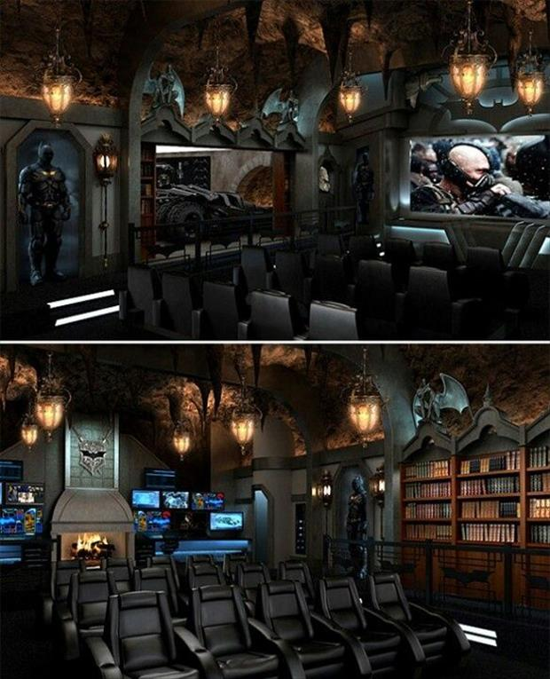 Ultimate Man Cave Roundup - FINDS Favorite Man Caves - Bat Cave