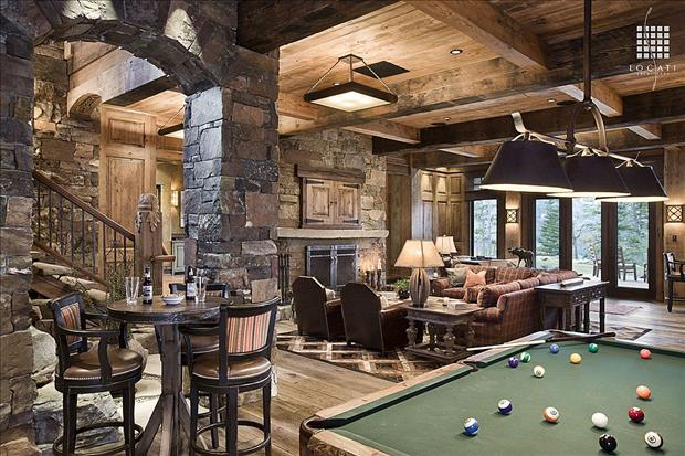Plans for building a table images with mountain lodge house plans on - Man Cave F I N D S