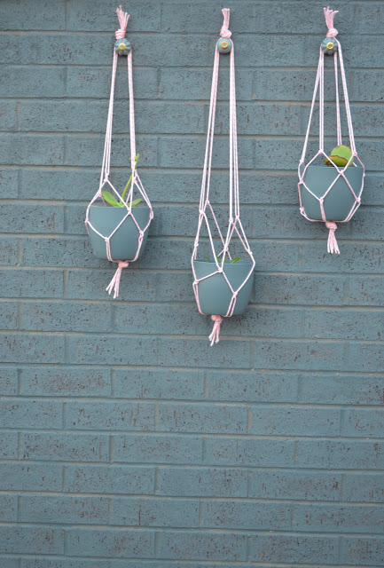 DIY Hanging Pots - Decorigami - Macrame Madness