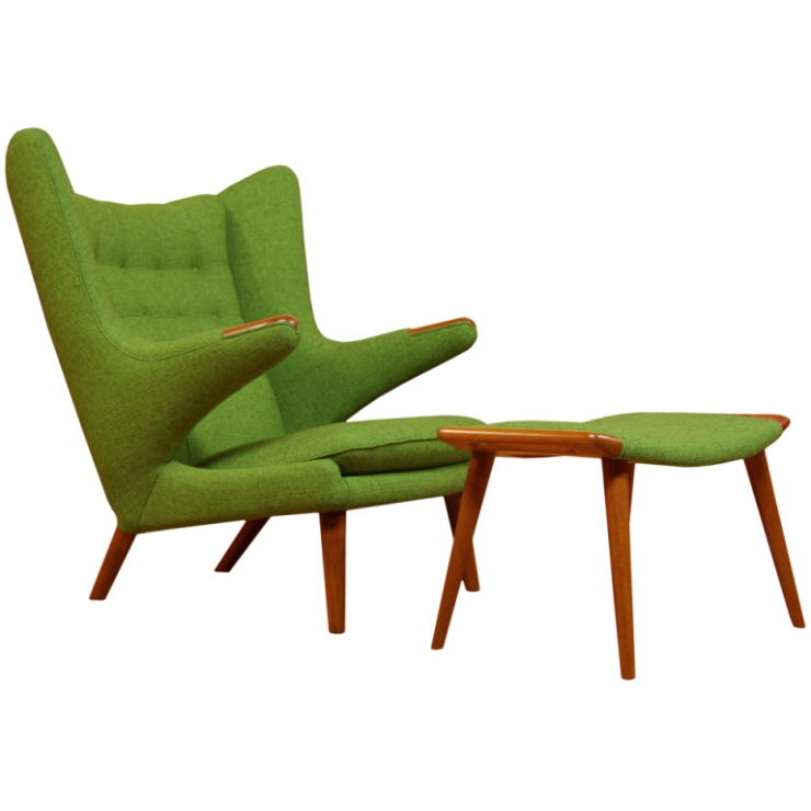 FINDS - Chair of the Month - Hans Wegner Pap Bear Chair