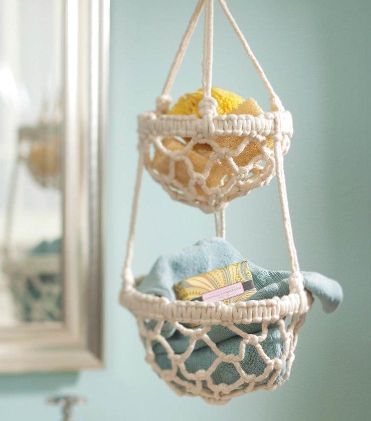 Macrame Hanging Basket -Decorigami - Macrame Madness