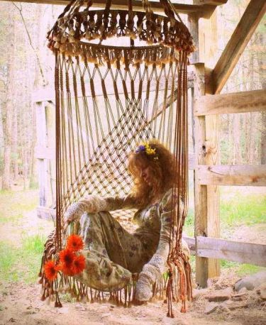 Macrame Hanging Chair - Decorigami - Macrame Madness
