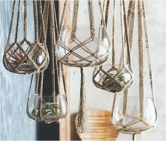 Roost Jute Hanging Planters -Decorigami - Macrame Madness