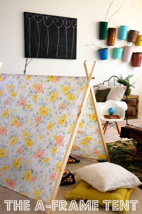 Summer DIY Roundup - A-Frame Tent