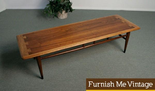 Fantastic Furniture - Mid-Century Modern Design - Lane Acclaim Coffee Table via Furnish Me Vintage
