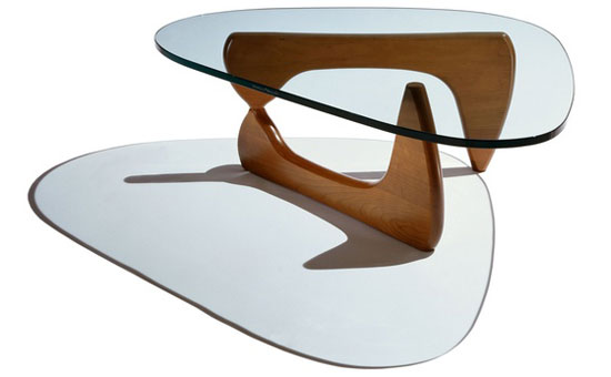 Fantastic Furniture - Mid-Century Modern Design - Noguchi Table by Isamu Noguchi