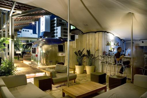 The Grand Daddy Boutique Hotel Cape Town – Sky Bar – An Airstream Rooftop Trailer Park