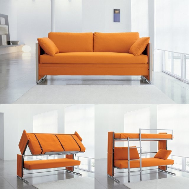 FINDS - Decorigami - Hidden Sleeping Space - Doc Sofa Bunk Bed