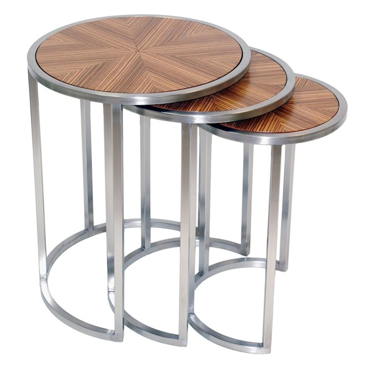 FINDS - Fantastic Furniture - Nesting Tables - Greta Nesting End Table from Modern Digs