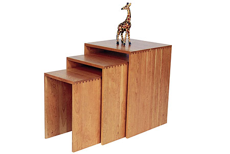 FINDS - Fantastic Furniture - Nesting Tables - New Traditions Cube Nesting Tables