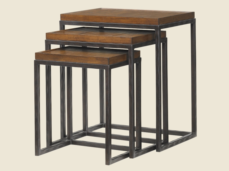 FINDS - Fantastic Furniture - Nesting Tables - Ocean Reef Nesting Table