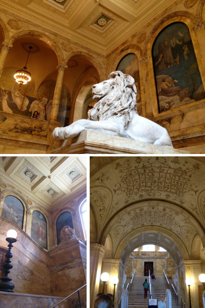 Time to Get Away - The Boston Public Library Main Staircase