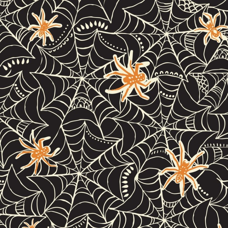 Caught in a Web Black - Spooktacular Too by Maude Asbury
