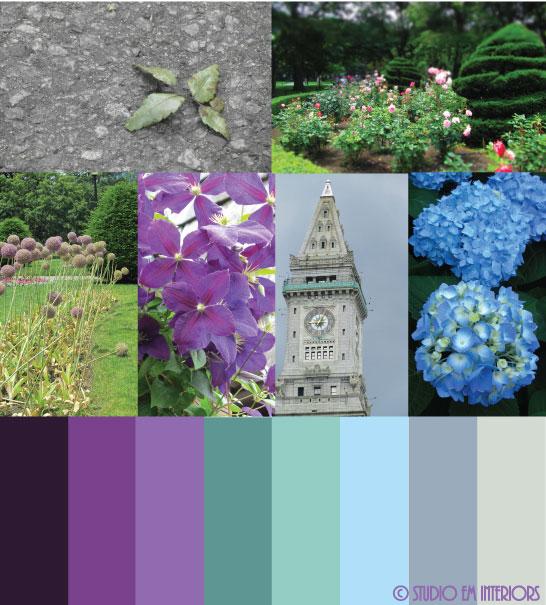 Concrete & Chlorophyll Color Palette