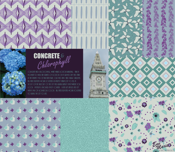Concrete & Chlorophyll Pattern Collection