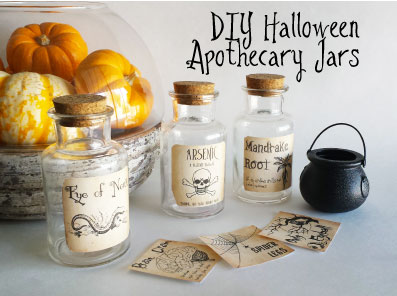 image relating to Free Printable Apothecary Jar Labels identify Vacation Do it yourself Do it yourself Halloween Apothecary Jars (absolutely free printable