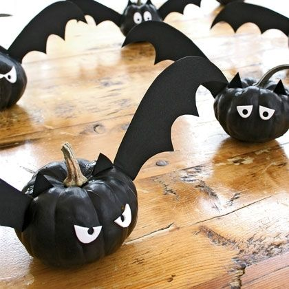 Holiday DIY - Pumpkin Decorating Roundup - Bat-O-Lanterns