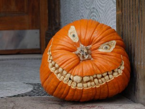 Holiday DIY - Pumpkin Decorating Roundup - Non-Traditional Jack-O-Lantern